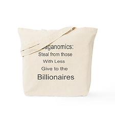 Reaganomics Anti MiddleClass Tote Bag