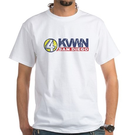 Channel 4 News San Diego White T-Shirt