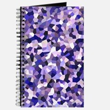 Violet Mosaic Pattern Journal