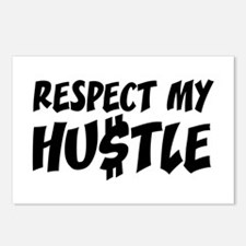 Respect my HUSTLE Postcards (Package of 8)