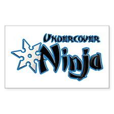 Undercover Ninja Decal
