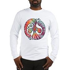 Tie-Dye Peace Spill Long Sleeve T-Shirt