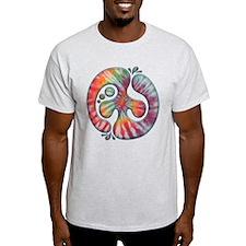 Tie-Dye Peace Spill T-Shirt