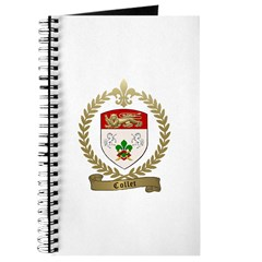 COLLET Family Crest Journal