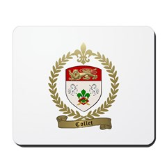 COLLET Family Crest Mousepad