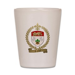 COLLET Family Crest Shot Glass