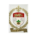 COLLET Family Crest Rectangle Magnet