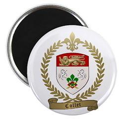"COLLET Family Crest 2.25"" Magnet (100 pack)"