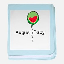 August Baby baby blanket