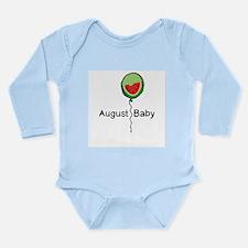 August Baby Long Sleeve Infant Bodysuit