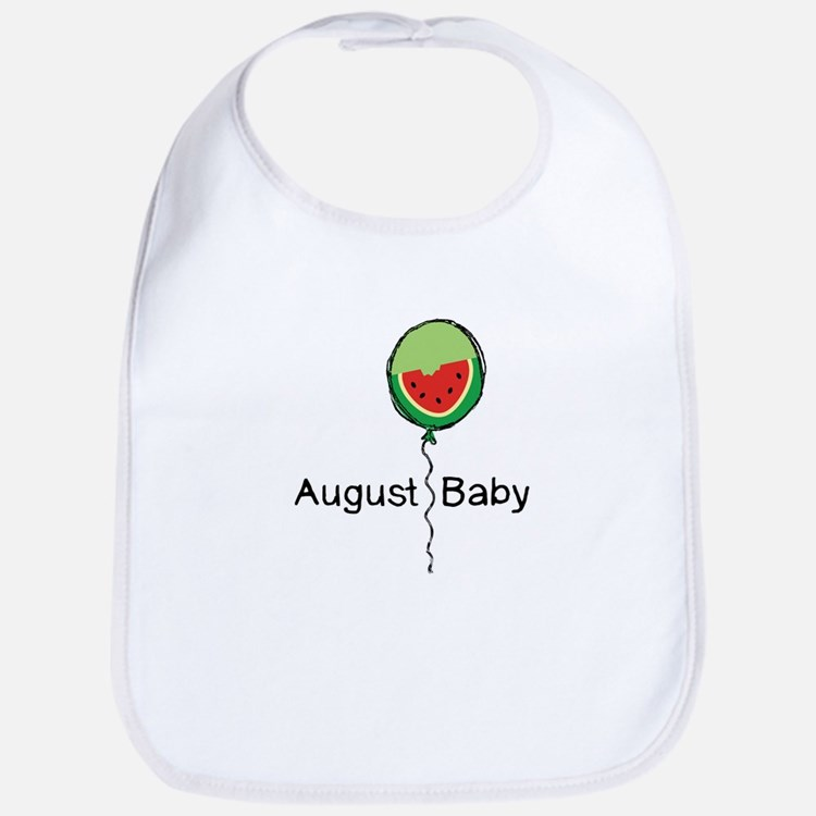 August Baby Bib