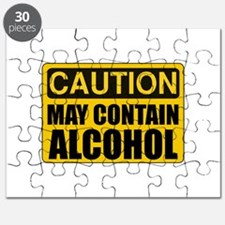 Caution May Contain Alcohol Puzzle