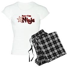 Part-Time Ninja pajamas