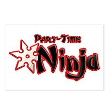 Part-Time Ninja Postcards (Package of 8)