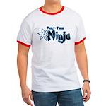 Part-Time Ninja Ringer T