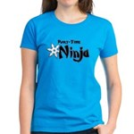 Part-Time Ninja Women's Dark T-Shirt