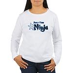 Part-Time Ninja Women's Long Sleeve T-Shirt