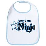 Part-Time Ninja Bib