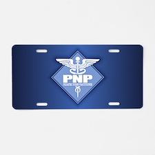 PNP Aluminum License Plate