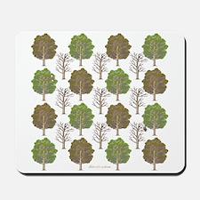 Argyle Tree Mousepad