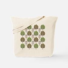 Argyle Tree Tote Bag