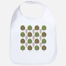 Argyle Tree Bib