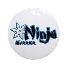 Warrior Ninja Ornament (Round)