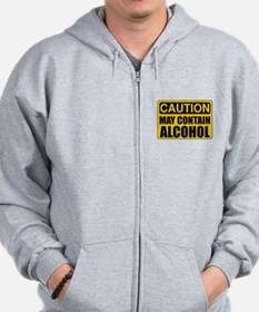 Caution May Contain Alcohol Sweatshirt