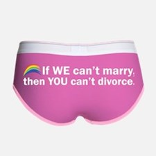 Can't Marry Women's Boy Brief