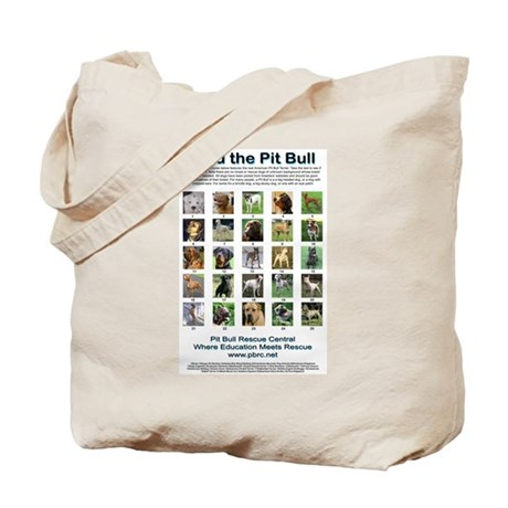 Find the Pit Bull Tote Bag
