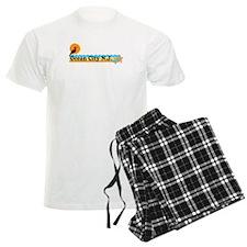Wrightsville Beach NC - Map Pajamas