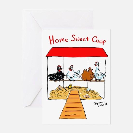 Home Sweet Coop Greeting Card
