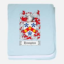 Hampton baby blanket