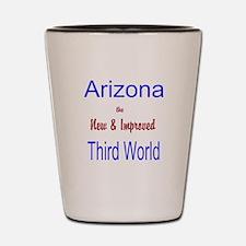 Arizona 3rd World Shot Glass