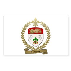 COLLETTE Family Crest Decal