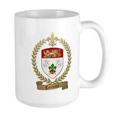 COLLETTE Family Crest Mug
