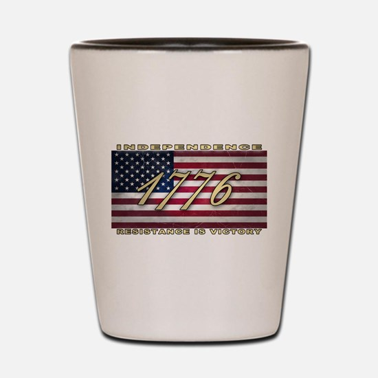 American Flag (1776) Shot Glass
