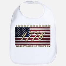 American Flag (1776) Bib