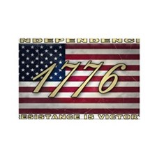 American Flag (1776) Rectangle Magnet