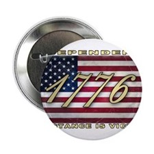 "American Flag (1776) 2.25"" Button"
