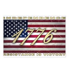 American Flag (1776) Postcards (Package of 8)