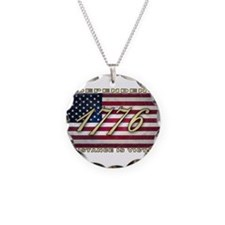 American Flag (1776) Necklace