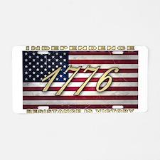 American Flag (1776) Aluminum License Plate