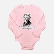"""Must Have Books"" Long Sleeve Infant Bodysuit"