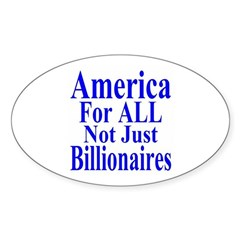 America For All Decal