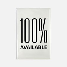 100 Percent Available Rectangle Magnet