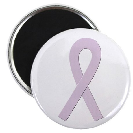 """Orchid Ribbon 2.25"""" Magnet (100 pack)"""