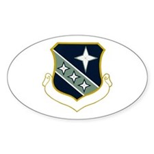 3d Security Police Group Oval Decal