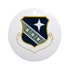 3d Security Police Group Ornament (Round)