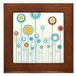 FLORAL DECOR Framed Tile